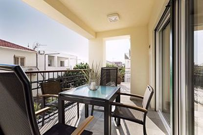 Picture of Deluxe apartment with two bedrooms, terrace with garden view