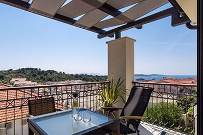 Picture of Penthouse apartment, terrace with sea view