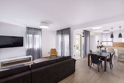 Picture of Premium apartment with two bedrooms, terrace with garden and pool view